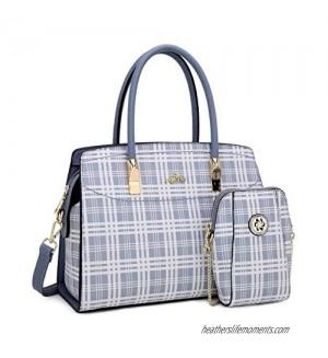 Angel Kiss Women Handbags and Purses Top Handle Satchel Purses Designer Tote for Women Work Bag with Wallet …