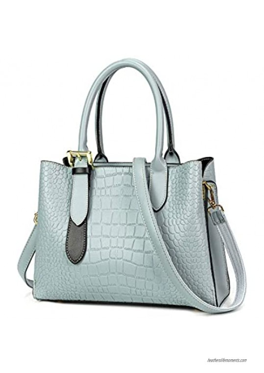 Designer Handbags for Ladies  Cute PU Leather Women's Purse and Shoulder Tote  Satchel Bag with Adjustable Strap